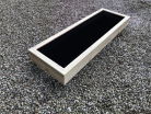 Cuboid Decking Planter 1000mm x 400mm 1 Tier