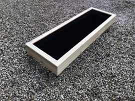 Cuboid Decking Planter 1200mm x 400mm 1 Tier