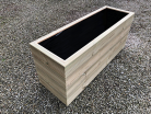 Cuboid Decking Planter 800mm x 400mm 4 Tier
