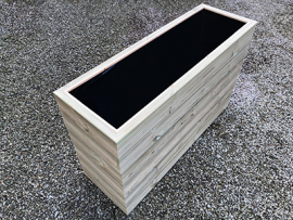 Cuboid Decking Planter 1600mm x 400mm 6 Tier