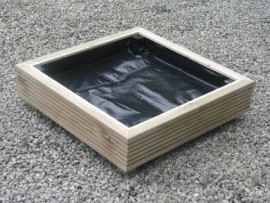 Cube Decking Planter 600mm x 600mm 1 Tier