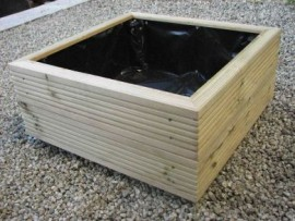 Cube Decking Planter 400mm x 400mm 2 Tier