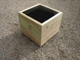 Cube Decking Planter 500mm x 500mm 4 Tier
