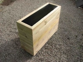Cuboid Decking Planter 1500mm x 300mm 5 Tier