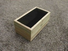 Cuboid Decking Planter 1800mm x 500mm 3 Tier
