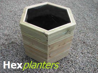 Hex Planters