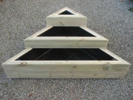 Trilogy Decking Planter 900mm x 900mm Large Stack (H) 520mm